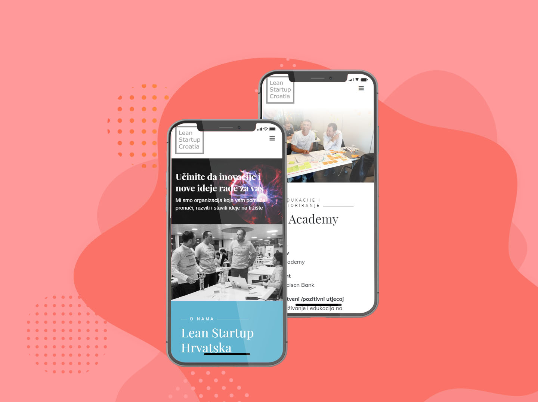 Lean Startup Izrada web stranice